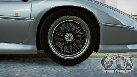 Jaguar XJ220 1992 (EPM) para GTA 4 traseira esquerda vista