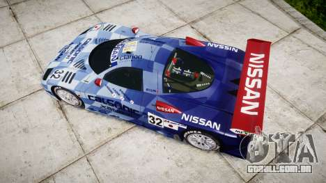 Nissan R390 GT1 1998 para GTA 4 vista direita