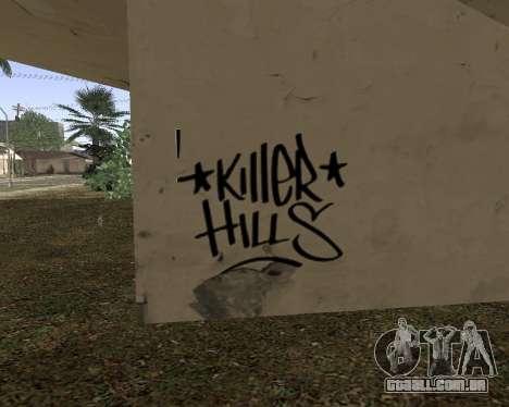 Textura Los Santos de GTA 5 para GTA San Andreas por diante tela