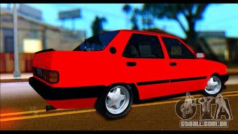 Tofas Dogan SLX Koni Clup para GTA San Andreas esquerda vista