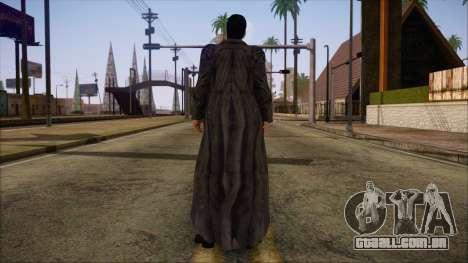 Neo Matrix Skin para GTA San Andreas segunda tela