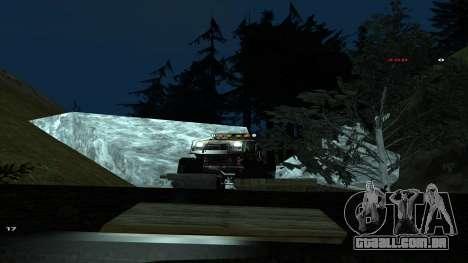 Трасса Offroad v1.1 por Rappar313 para GTA San Andreas twelth tela