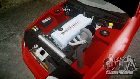 Nissan Skyline R32 GT-R para GTA 4 vista interior