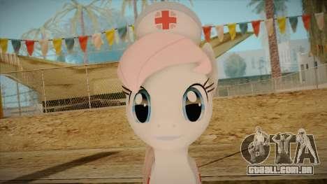 Nurseredheart from My Little Pony para GTA San Andreas terceira tela