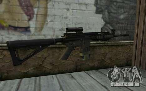 M4A1 from COD Modern Warfare 3 para GTA San Andreas segunda tela