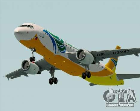 Airbus A320-200 Cebu Pacific Air para o motor de GTA San Andreas
