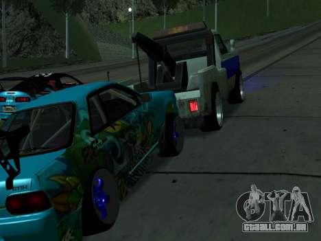 Nissan Skyline R34 EvilEmpire para GTA San Andreas vista direita