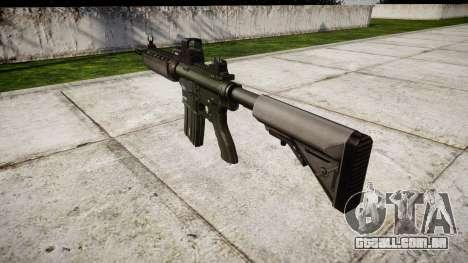 Máquina M4A1-alvo para GTA 4 segundo screenshot