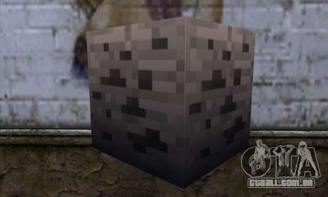 Bloco (Minecraft) v3 para GTA San Andreas segunda tela