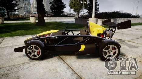 Ariel Atom V8 2010 [RIV] v1.1 Hauminator para GTA 4 esquerda vista
