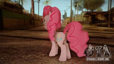 Pinkie Pie from My Little Pony para GTA San Andreas segunda tela