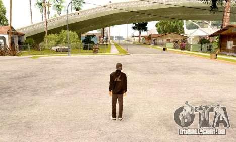 Varios Los Aztecas Gang Skin pack para GTA San Andreas segunda tela