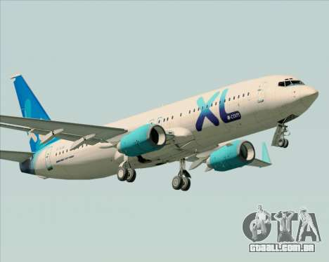 Boeing 737-800 XL Airways para as rodas de GTA San Andreas
