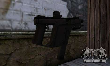 Tec9 from State of Decay para GTA San Andreas segunda tela