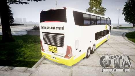 Marcopolo G7 OAD Reizen para GTA 4 traseira esquerda vista