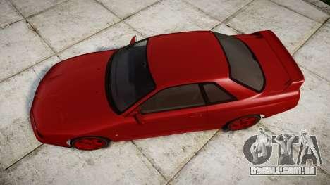 Nissan Skyline R32 GT-R para GTA 4 vista direita
