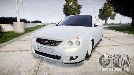 ВАЗ-Lada 2170 Priora Lâmpada para GTA 4