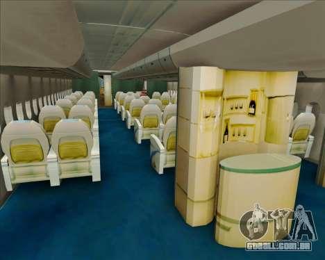 Airbus A380-800 Air China para GTA San Andreas