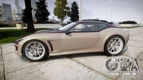 GTA V Lampadati Furore GT para GTA 4 esquerda vista