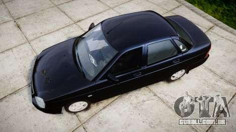 ВАЗ-2170 Lada Priora estoque para GTA 4 vista direita