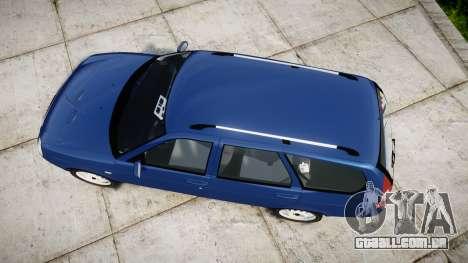 ВАЗ-2171 INSTALADO Antes rims2 para GTA 4 vista direita