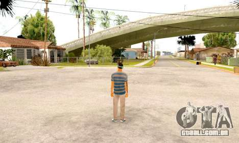 Varios Los Aztecas Gang Skin pack para GTA San Andreas por diante tela