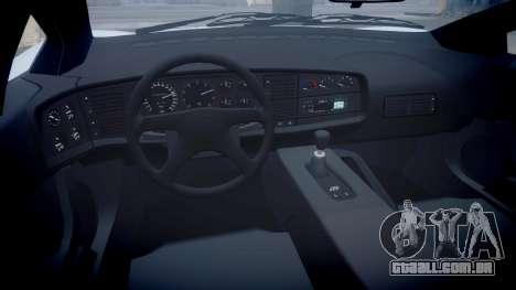 Jaguar XJ220 1992 [EPM] para GTA 4 vista de volta