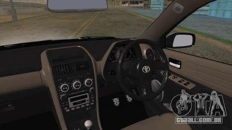 Toyota Altezza (RS200) 2004 (HQLM) para GTA San Andreas traseira esquerda vista