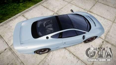 Jaguar XJ220 1992 [EPM] para GTA 4 vista direita