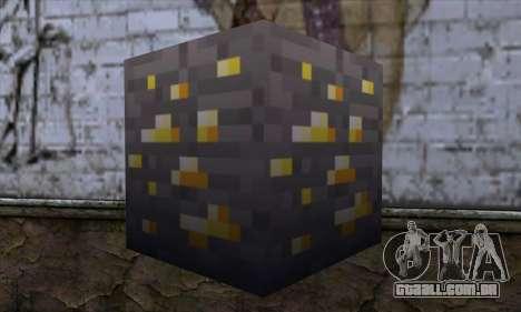 Bloco (Minecraft) v8 para GTA San Andreas segunda tela