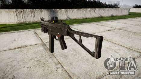 Alemão submetralhadora HK UMP 45-alvo para GTA 4 segundo screenshot