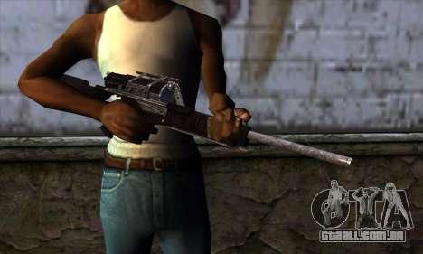 Calico M951S from Warface v2 para GTA San Andreas terceira tela