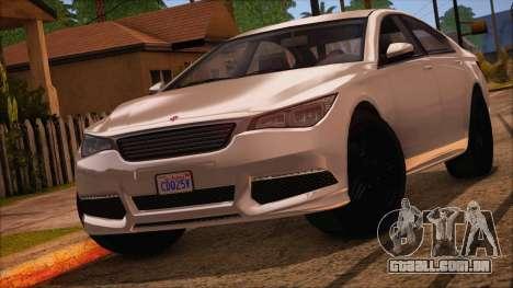 GTA 5 Ubermacht Sport IVF para GTA San Andreas