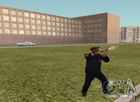 O sargento da polícia para GTA San Andreas segunda tela