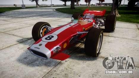 Lotus 49 1967 red para GTA 4