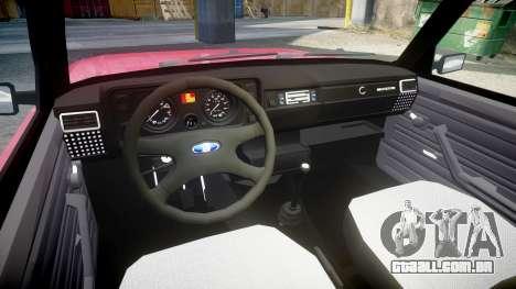 VAZ-2104 para GTA 4 vista de volta