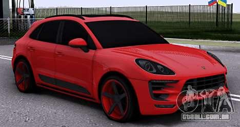 Porsche Macan Vossen para GTA San Andreas
