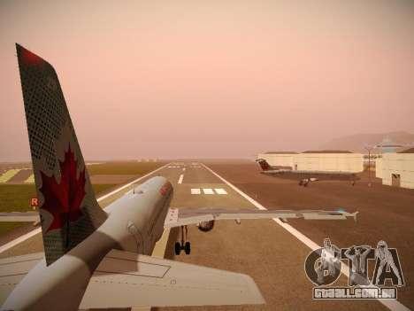 Airbus A320-214 Air Canada para o motor de GTA San Andreas