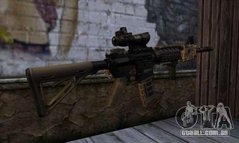 AR15 bushmaster para GTA San Andreas segunda tela