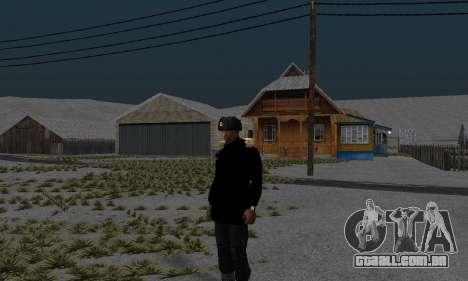Casaco de inverno para GTA San Andreas