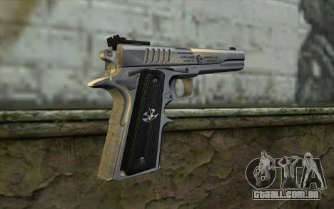 Colt 1911 Silverballer para GTA San Andreas segunda tela