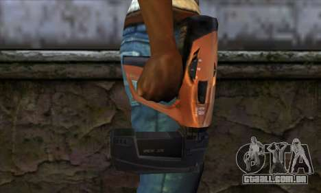 Nailgun from Manhunt para GTA San Andreas terceira tela