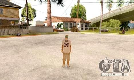 Varios Los Aztecas Gang Skin pack para GTA San Andreas sexta tela