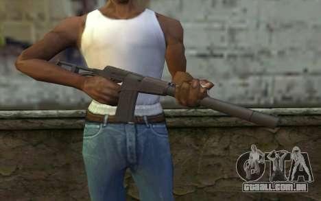 AU VAL (Battlefield 3) para GTA San Andreas terceira tela