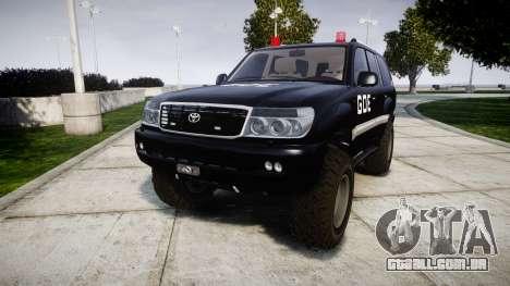 Toyota Land Cruiser 100 GOE [ELS] para GTA 4