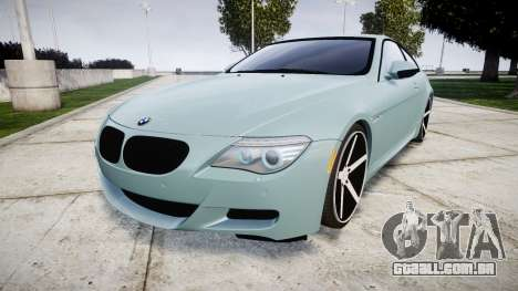 BMW M6 Vossen VVS CV3 para GTA 4