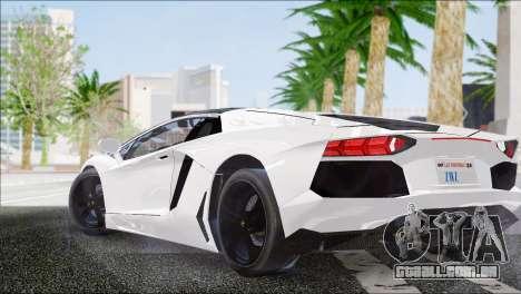 ENB Series HD v2 fracas e médias PC para GTA San Andreas por diante tela