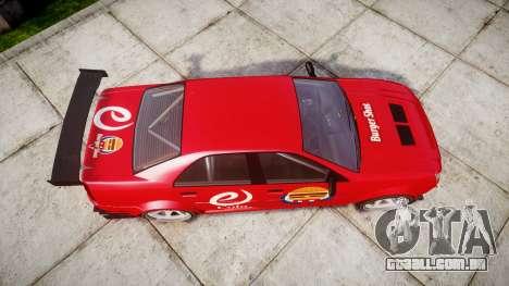 Albany Presidente Racer [retexture] eCola para GTA 4 vista direita