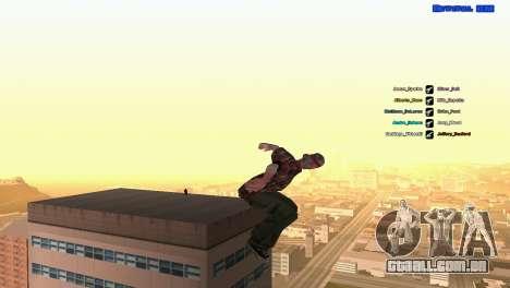 ped.ifp por Pavel_Grand para GTA San Andreas quinto tela