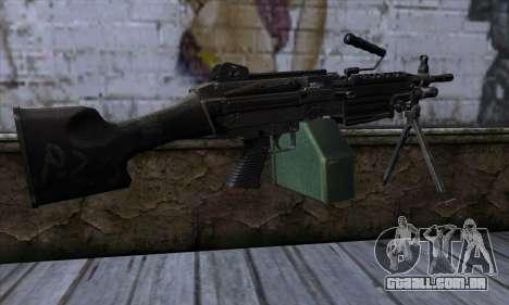 M249 v1 para GTA San Andreas segunda tela